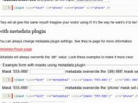 jQuery MeioMask : Masking Text inputs use jQuery plugin